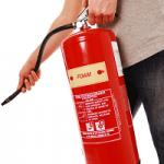Как се използва пожарогасител