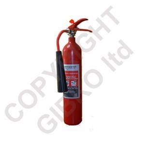 Пожарогасител с въглероден диоксид 2кг