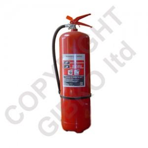 Прахов пожарогасител