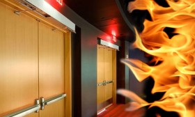 Пожарни врати