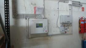 Система за пожароизвестяване и димо и топлоотвеждане