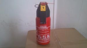 Презареждане на пожарогасител