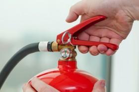 Проверка на пожарогасител
